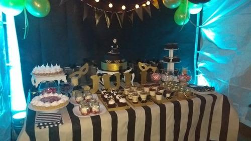 tortas y mesas dulces tematicas