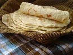 tortillas de harina de trigo