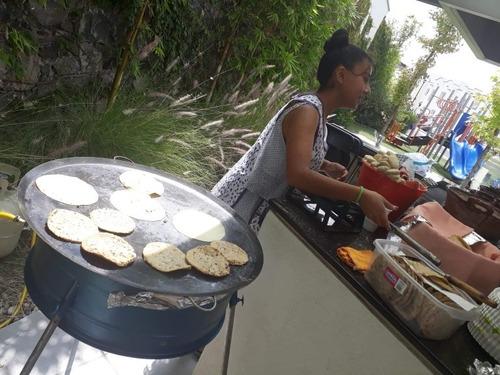 tortillas echas a mano al momento en su evento