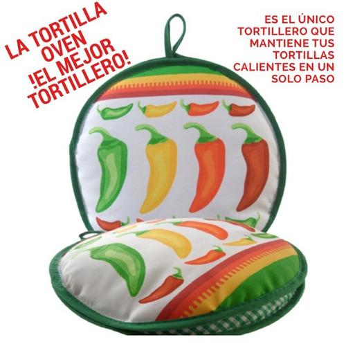 tortillero - la tortilla oven - modelo chiles