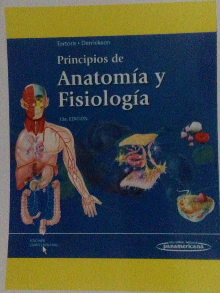 Tortora A Color. Libro Principio De Anatomia Y Fisiologia - $ 650.00 ...