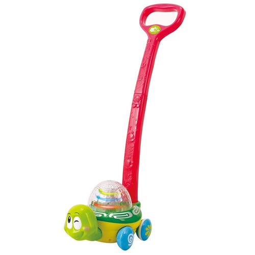 tortuga carrito luces bebés niños juguete infantil play go