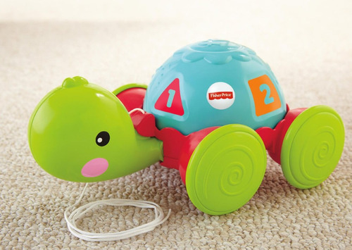 tortuga de aprendizaje bebé estimulación de fisher price lb