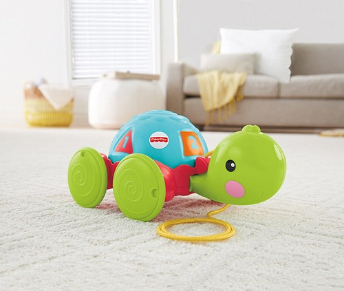 tortuga de aprendizaje - fisher price - first play y8652