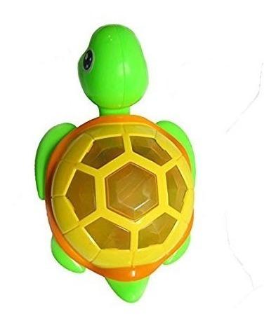 tortuga de juguete con luz  y movimiento  + 6 meses