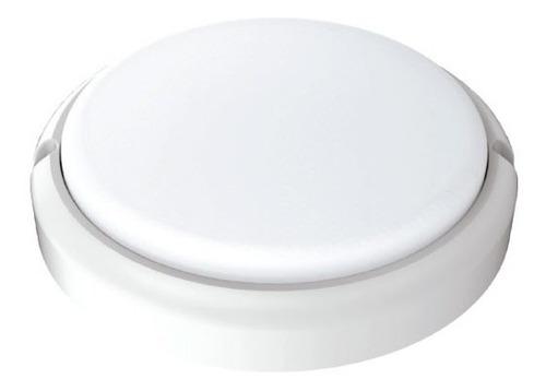 tortuga led redonda 24w 6500k blanca interelec