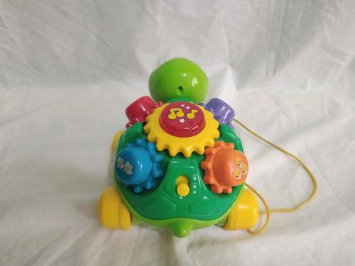 tortuga vtech como nueva - carrito de juguete para niños
