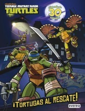 ¡tortugas al rescate! libro de actividades con tatuajes(libr