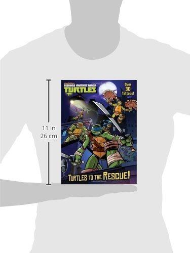 Tortugas Al Rescate! (teenage Mutant Ninja Turtles) (color ...