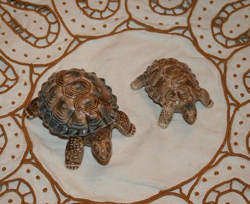 tortugas de porcelana inglés wade