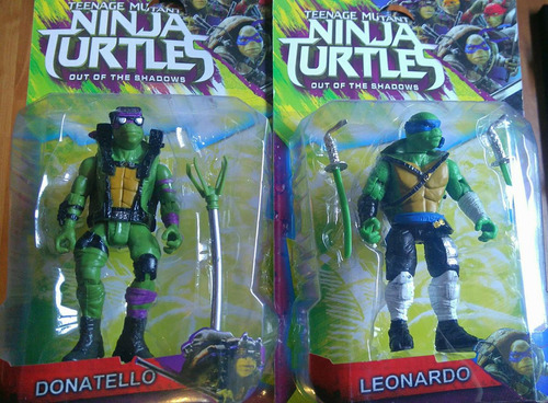 tortugas ninja 2 out of shadows rafael donatello miguel ange