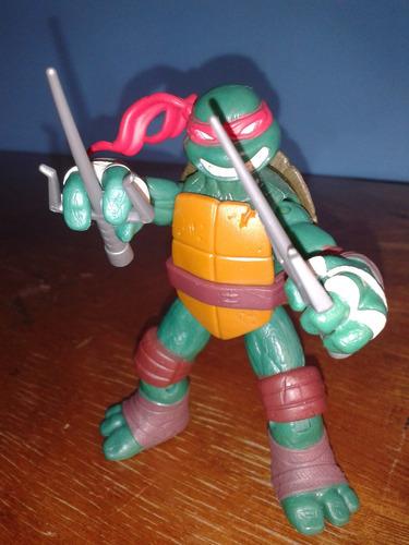 tortugas ninja figura de accion raphael 300 nik spin master