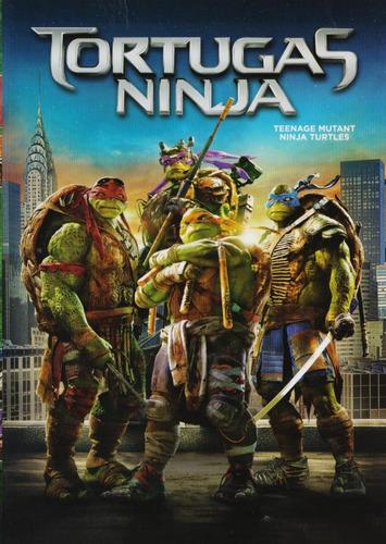 tortugas ninja megan fox pelicula dvd