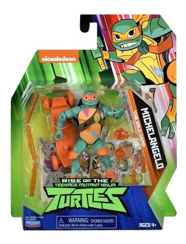 tortugas ninja muñeco 10cm con accesorios playmates