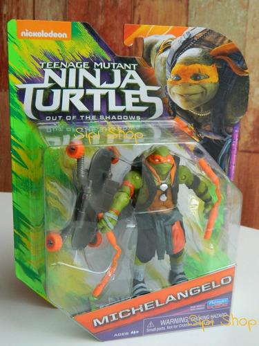 tortugas ninja original playmates 12,5 cm con accesorios