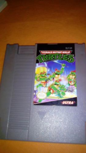tortugas ninja para nintendo nes original buen estado