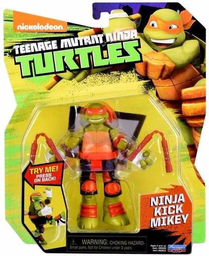 tortugas ninja playmates x 4 orig con botones para golpes