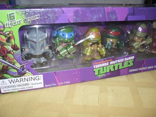 tortugas ninjas mutantes adolecentes excelentes tmnt set x6