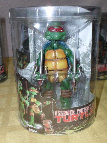 tortugas ninjas mutantes excelentes! tmnt neca raphael leo