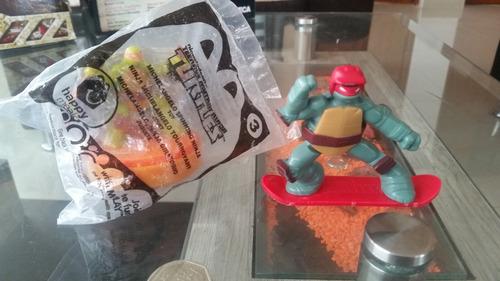 tortugas ninjas  nickelodeon turtles mcdonalds