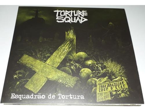 torture squad - esquadrão de tortura (cd digipak) lacrado