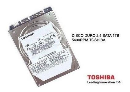 toshiba 1 tb disco duro sata 2.5 para laptop (gadroves)