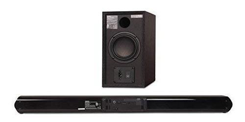 toshiba 2.1 channel bluetooth tv sound bar usb and aux input