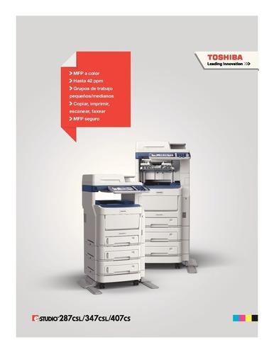 toshiba impresora fotocopiadora multifuncional 287csl