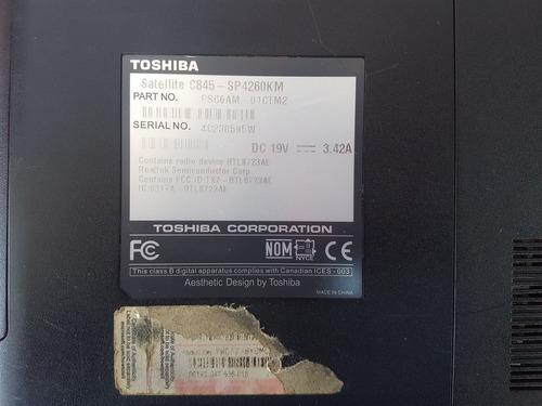 toshiba satellite c845-sp4260km para refacciones