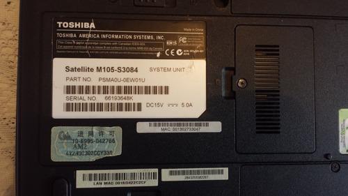 toshiba satellite m105 s3084 para reparar