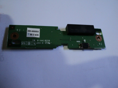 toshiba satellite touch pad placa com botões - v000061660