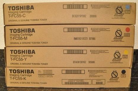 toshiba tfc55k  black toner cartridge