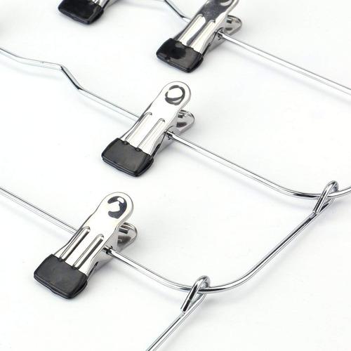 tosnail 6 nivel falda hangers pantalones hangers se plegar e