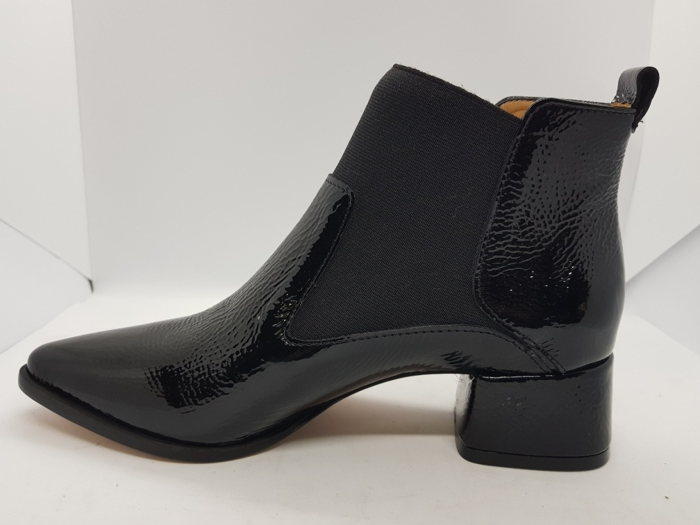 2d924793 Tosone Bota Charol Ecrase Negro Zapato Mujer - $ 5.500,00 en Mercado ...
