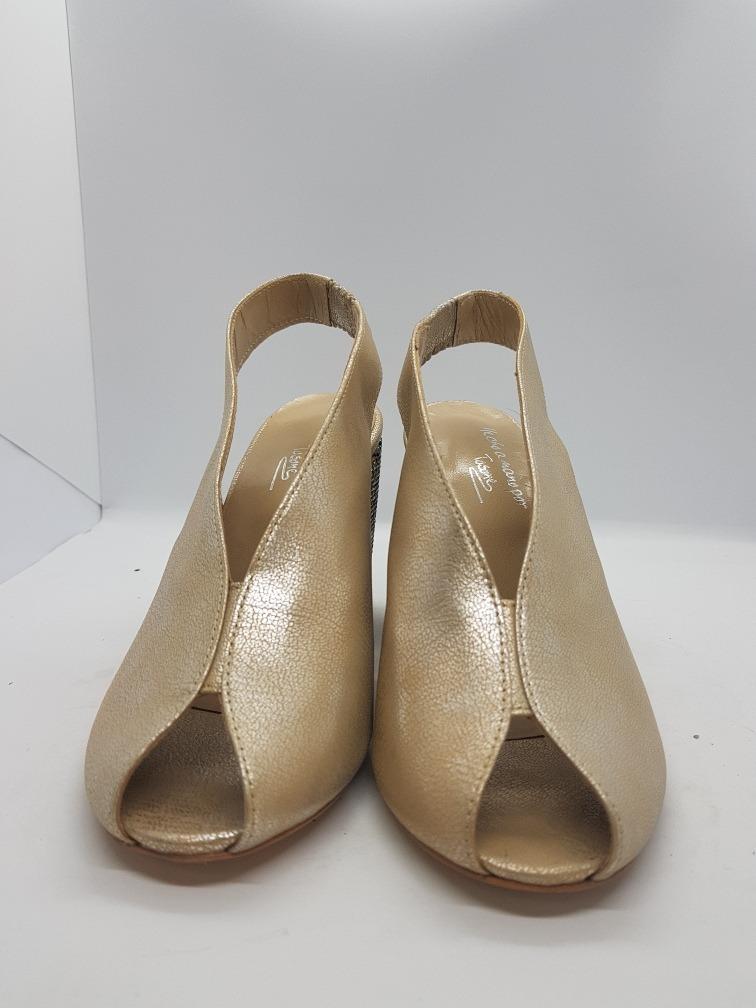 d785c2e1 Tosone Sandalia Bari Plata Cuadrada Plata Zapato Mujer - $ 2.200,00 ...