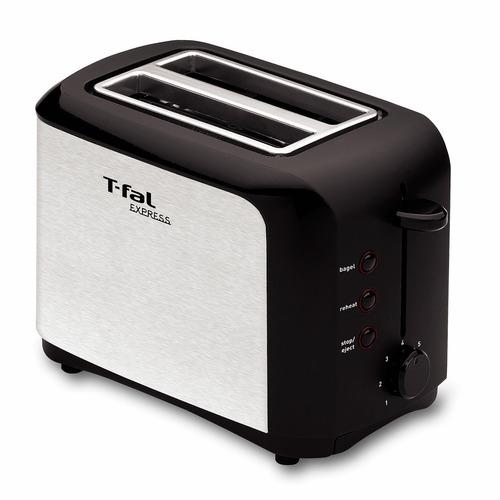 tostador 2 panes express 6 niveles plata t-fal tt356150
