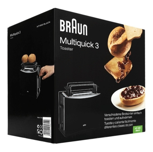 tostador electrico multiquick 3 braun negro tostadas pan