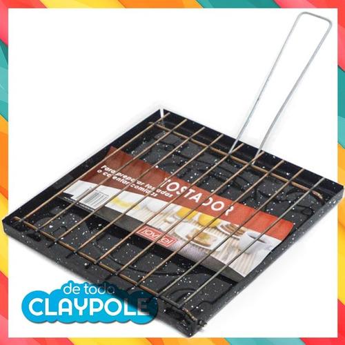 tostador enlozado con difusor - 20 x 20 cms - jovifel