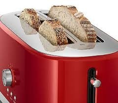 tostador pan ranura larga 4 rebanadas kitchenaid kmt4116