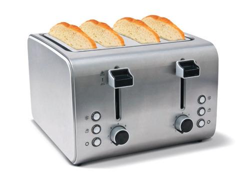 tostadora 4 tostadas peabody inoxidable t8520 tienda oficial