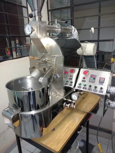 tostadora de granos de cafe, cacao, etc