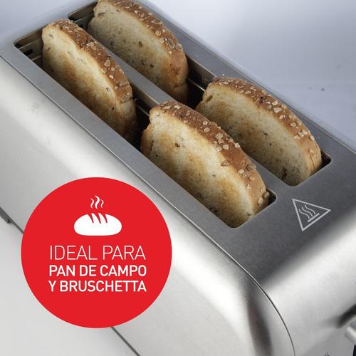 tostadora de pan 2 ranuras largas peabody pe-t1399 *