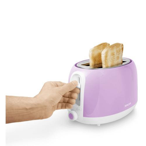 tostadora de pan colección pastels morado sencor sts 35vt