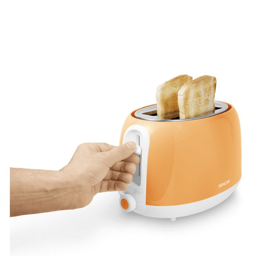 tostadora de pan colección pastels naranja sencor sts 33or