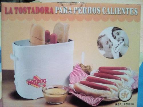 tostadora de perros calientes