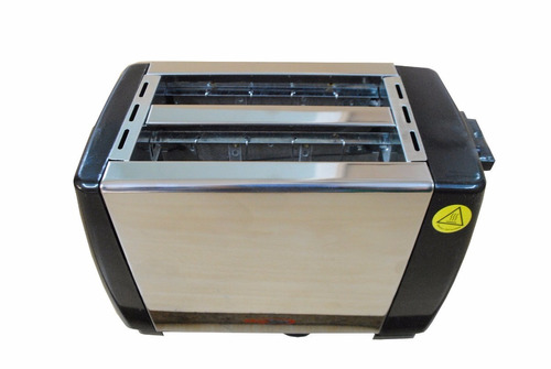 tostadora electrica acero inoxidable para 2 rodajas de pan