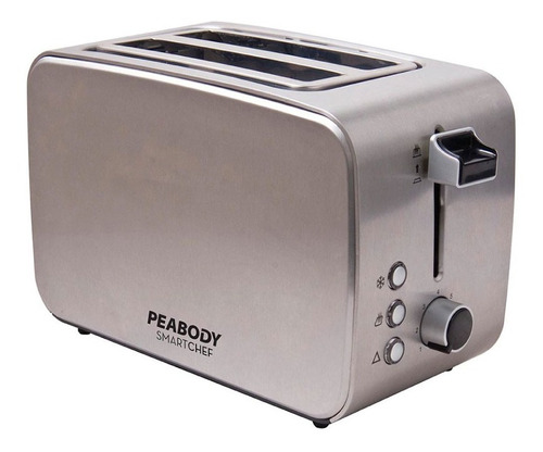 tostadora eléctrica de pan peabody pe-t8127 2 panes pce rt