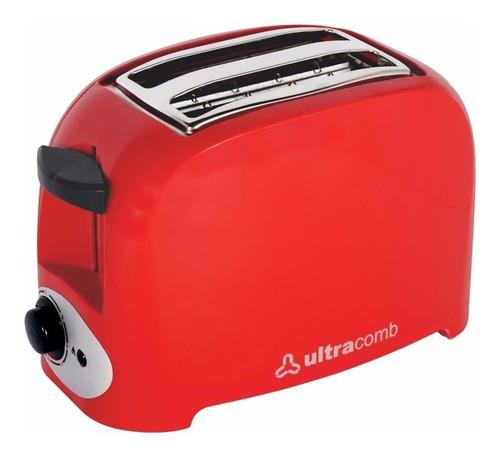 tostadora electrica p/2panes ultracomb to4005 750w 7 niveles