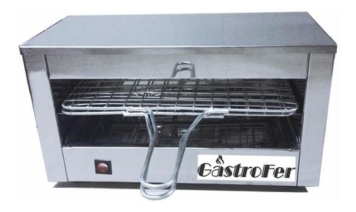 tostadora electrica roa carlitero electrico grill acero inox