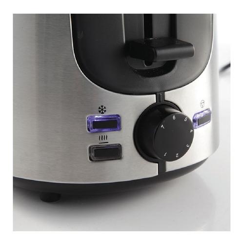 tostadora electrica smartlife acero inox 1000w sl-to1701 pc
